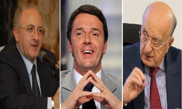 De Mita e Renzi, lista unica alle Regionali in Campania