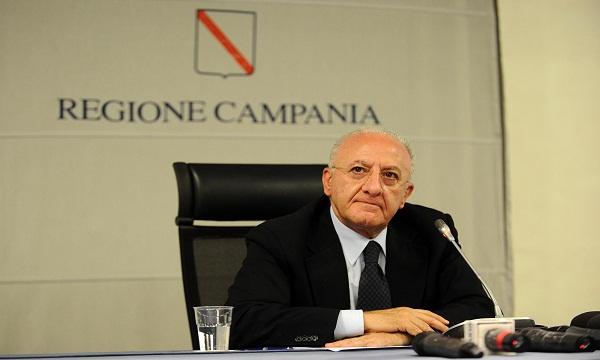 De Luca contro il Governo: 'Sconcertante su Ariano e Vallo di Diano'