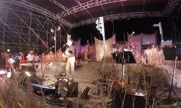 Gianni Morandi e Vinicio Capossela insieme sul palco di Sponz Fest 2016