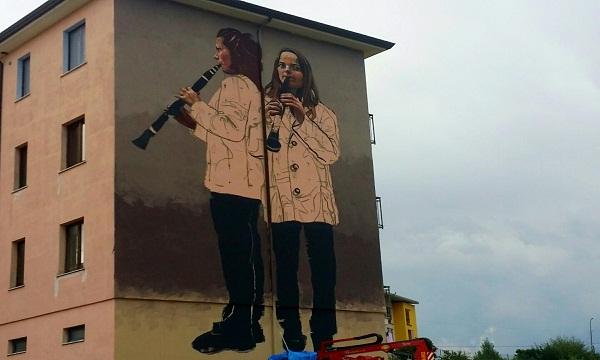 Irpinia Express, a Lioni un tour d'arte urbana
