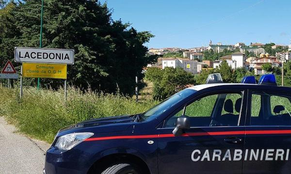 Furti a Lacedonia, tre uomini arrestati in flagranza