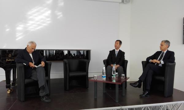 """Le 2 Culture, Garattini e Kajita al meeting. Zecchino: """"Lavoriamo su due brevetti"""""""
