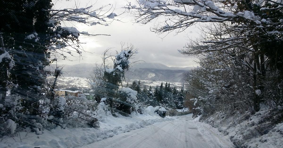 Irpinia, neve in arrivo anche a bassa quota