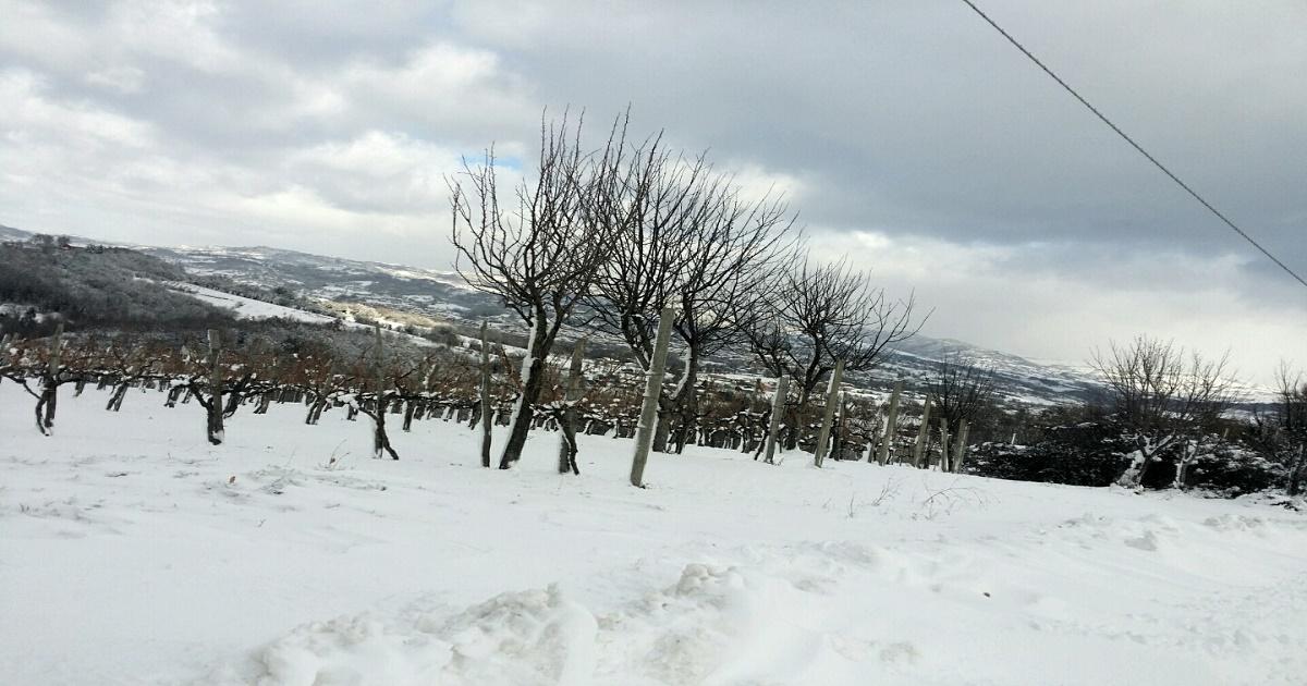 Neve in arrivo nel weekend in Irpinia