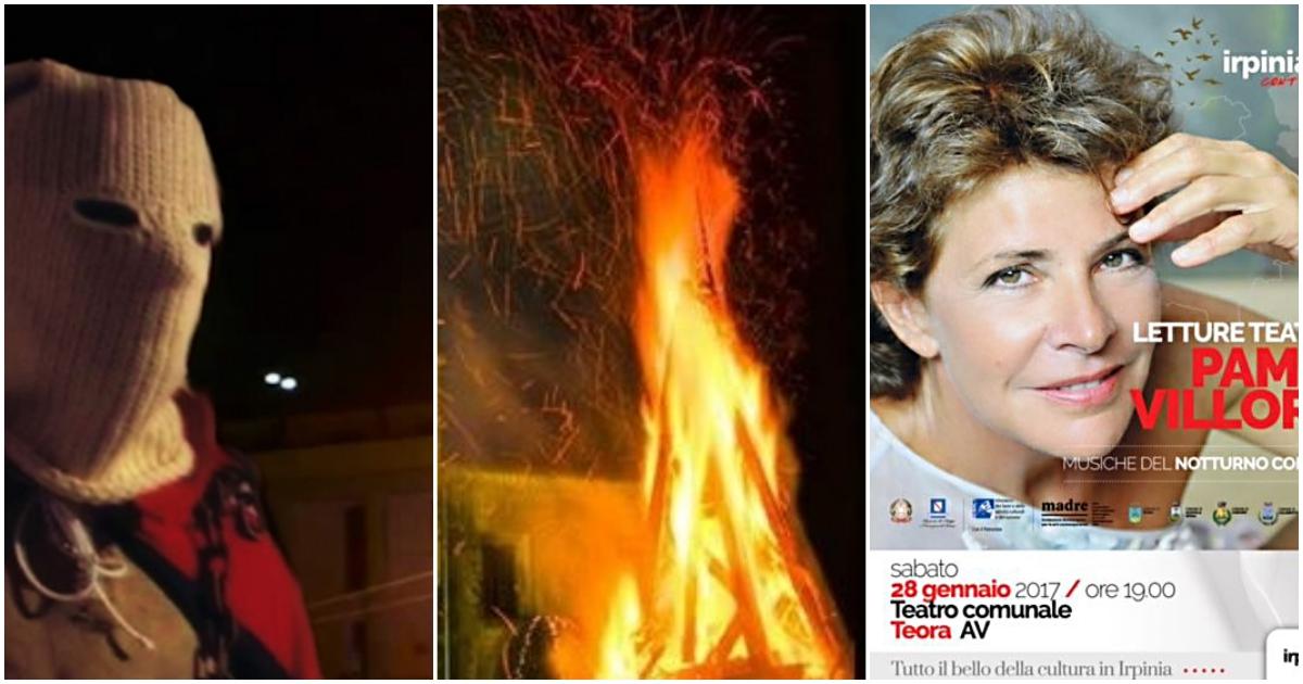 Teora e Nusco: maschere, fuoco e teatro nel weekend