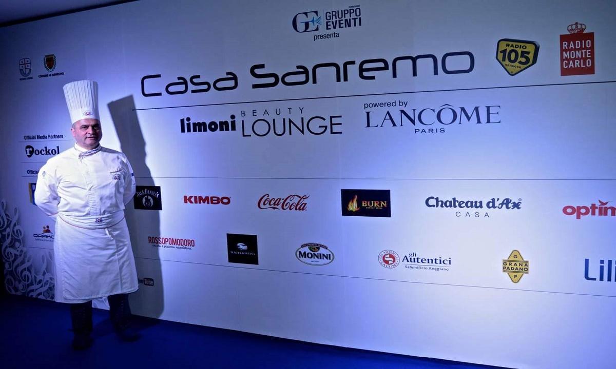 Irpinia in vetrina a Sanremo con lo chef Colucci
