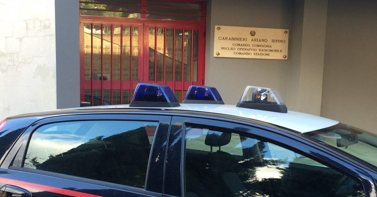 Rapina in un centro scommesse di Ariano: arrestato un minorenne
