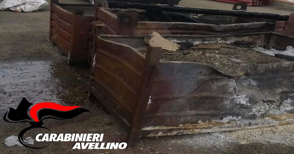 Smaltimento illecito di rifiuti, due denunce a Nusco