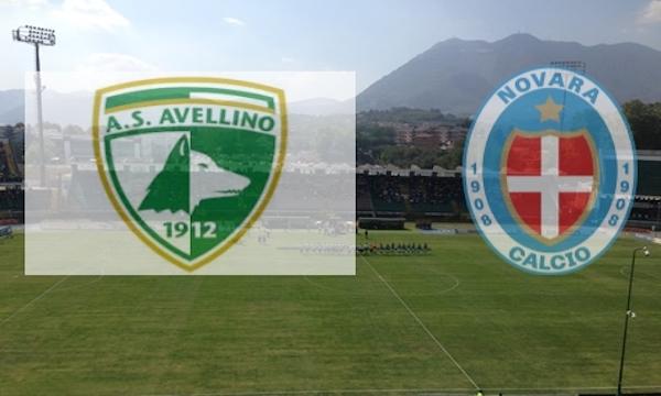 Avellino in rimonta sul Novara, finisce 1-1
