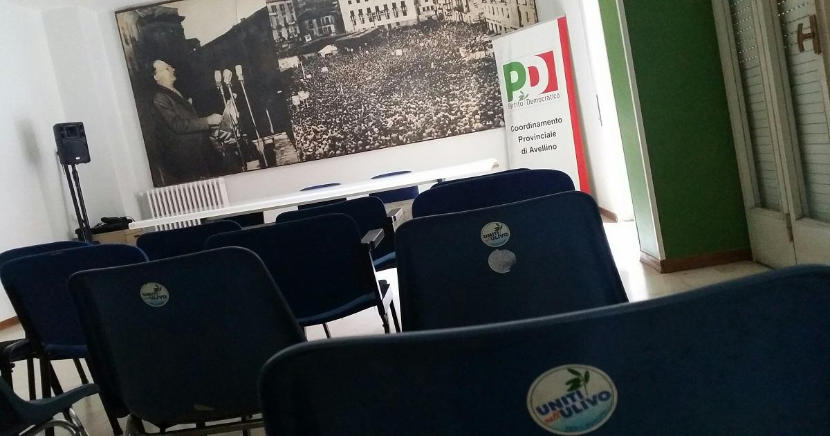 Partito Democratico, in Irpinia oltre tremila nuovi iscritti
