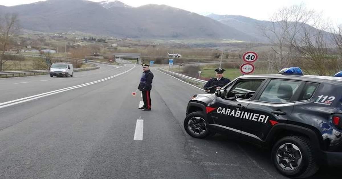 Carabinieri, le operazioni del weekend in Irpinia