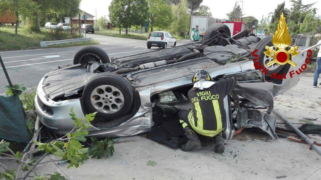 Conza, incidente sull'Ofantina: un ferito