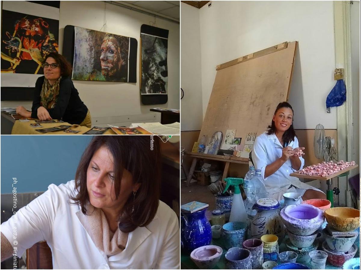 Angela, Concetta e Giustina: la ceramica negli occhi delle donne