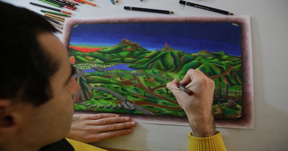 I disegni di Francesco Roselli: tra storia, fantasia e colori dell'Irpinia