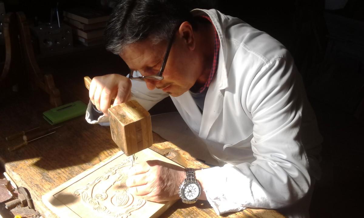Il legno d'Irpinia diventa arte nelle mani di Francesco