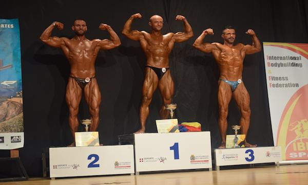 Al Campionato Mondiale di body building IBFF 2017, argento per Virginio Granese
