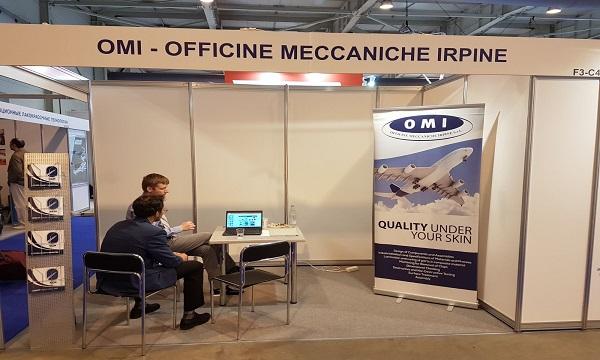La OMI di Lacedonia al salone dell'aviazione a Mosca
