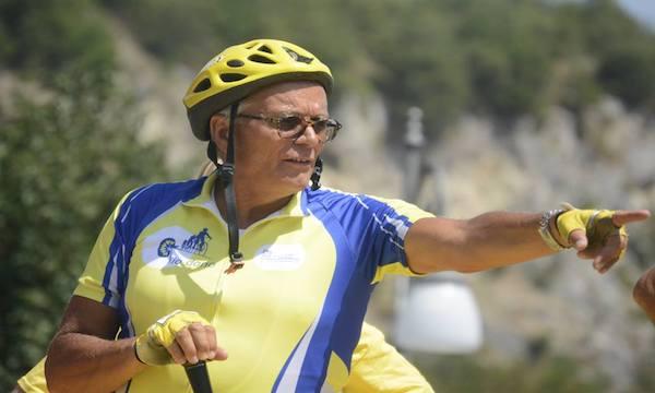 In bicicletta da Lioni, l'Irpinia per la vita con 400 cicloamatori