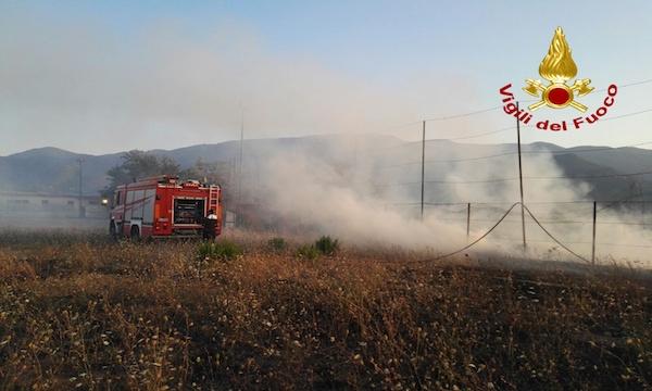 Quaranta roghi in Irpinia, è sempre emergenza incendi