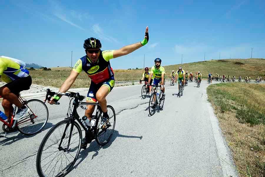 Alta Irpinia, la nuova ciclopedalata per la vita