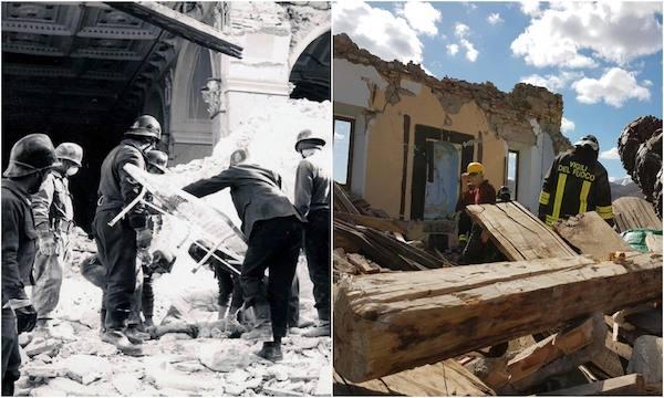 Il sisma, i Vigili del fuoco e le storie ritrovate