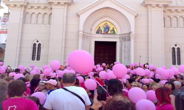 La Camminata Rosa per la quinta volta, domenica tra Mercogliano e Avellino