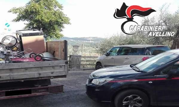 Trasporto illecito di rifiuti, due denunce a Paternopoli