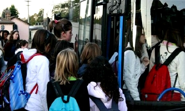 A scuola in Alta Irpinia: se l'autobus è il problema
