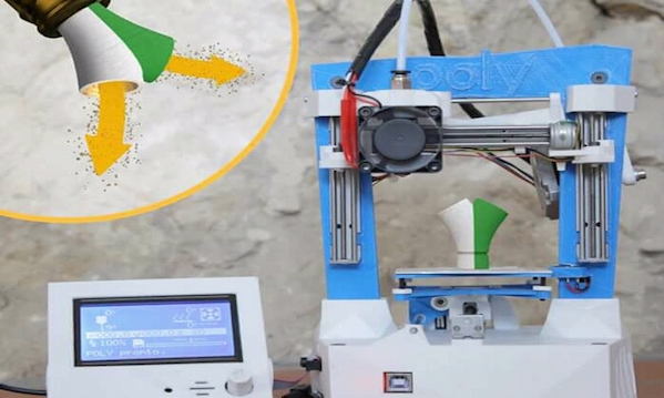Made in Mercogliano, dalla stampante 3D portatile alla Ceres in due bicchieri