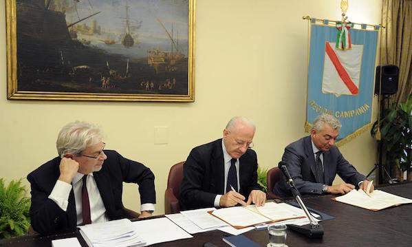 Bonifiche in Campania, firmata intesa per dieci siti
