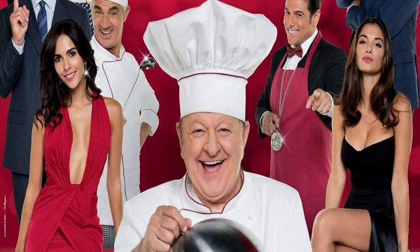 Massimo Boldi ospite a Lioni con il cinepanettone 'Natale da chef'