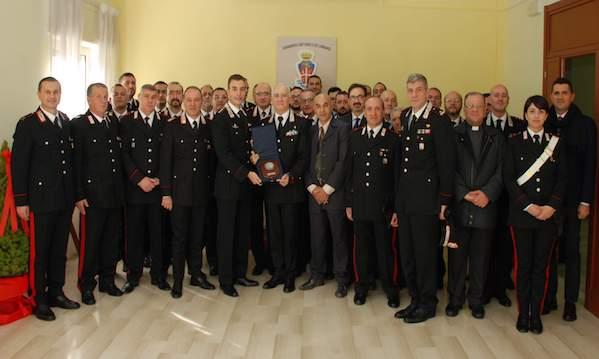 Carabinieri, i vertici nazionali e regionali a Sant'Angelo dei Lombardi