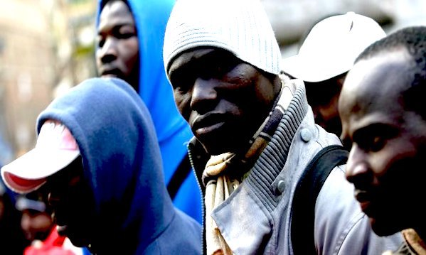 'Conza non vuole più i rifugiati', la protesta di 'Io Voglio restare in Irpinia'