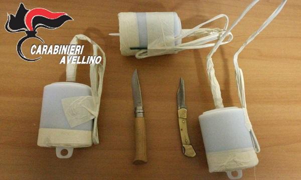 Bombe artigianali in auto: un arresto a Grottaminarda