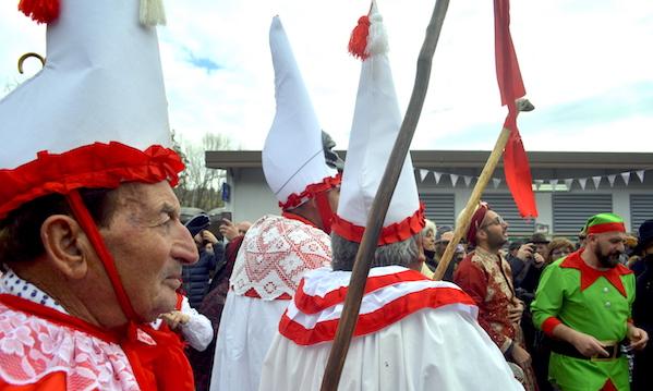 Treno e Carnevale, la domenica di Montemarano