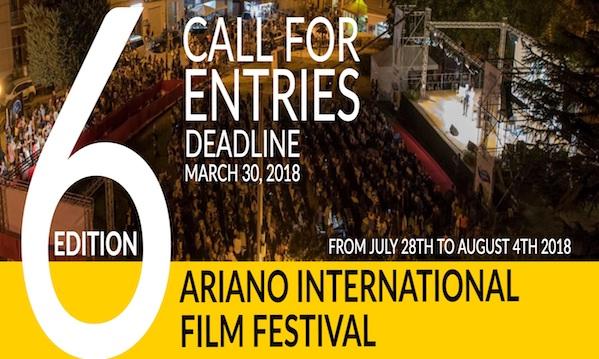 Ariano International Film Festival, aperto il bando