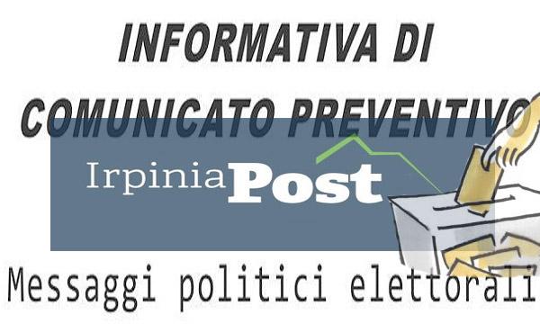 Elezioni 2018, comunicato preventivo
