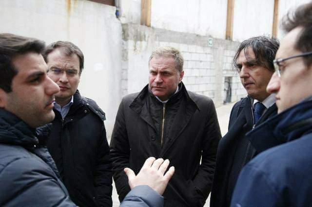 Corsa per il Senato, il casertano Graziano visita le aziende del Mandamento
