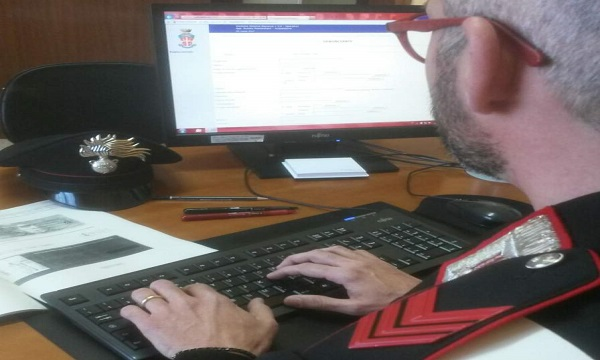 Calitri: assegno contraffatto per acquisto online, una denuncia