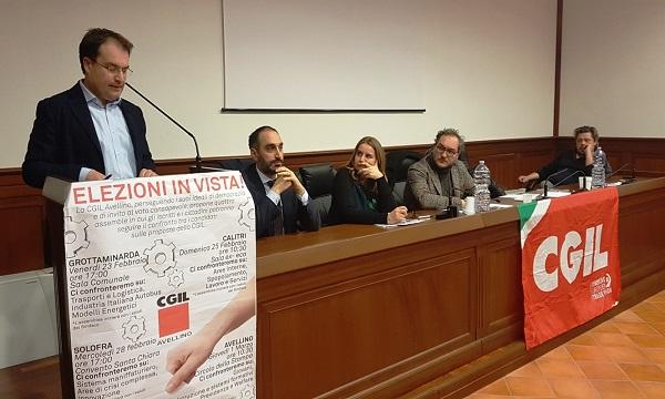 Famiglietti incontra la Cgil: 'Mai tanta attenzione da un Governo per il Sud'