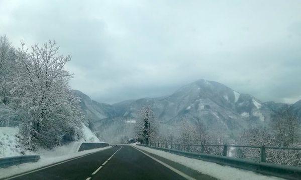 Neve e gelate oltre i 400 metri, l'avviso della Protezione civile