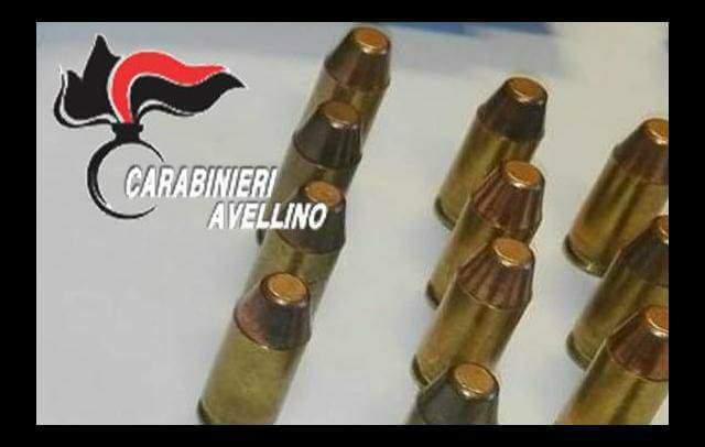 Calabritto, munizioni illegali: una denuncia