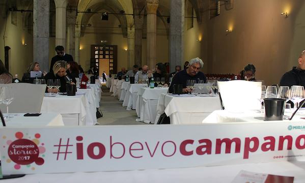 Campania Stories 2018, i vini della regione davanti alla Stampa mondiale