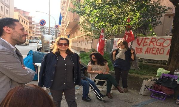 Aias, Todisco con i lavoratori: 'Solidarietà piena'