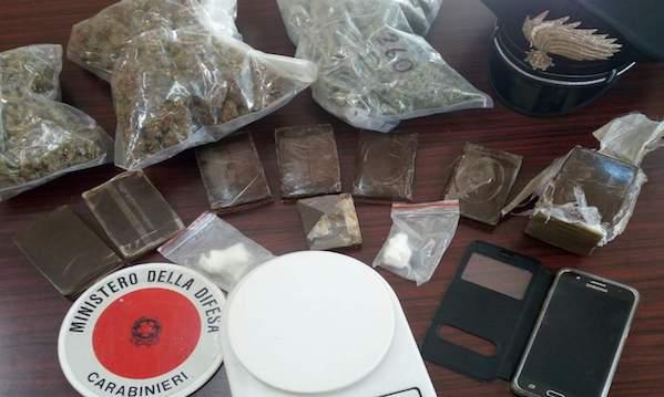 Monteforte Irpino, maxisequestro di droga: un arresto