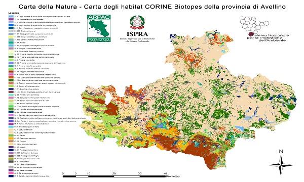 Carta della natura, Irpinia è la provincia meno fragile in Campania