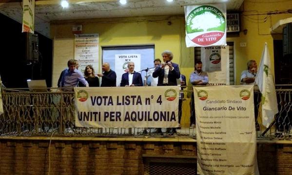 De Vito fa il bis: è di nuovo sindaco di Aquilonia