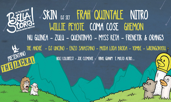 Bella storia, il social music festival di Venticano