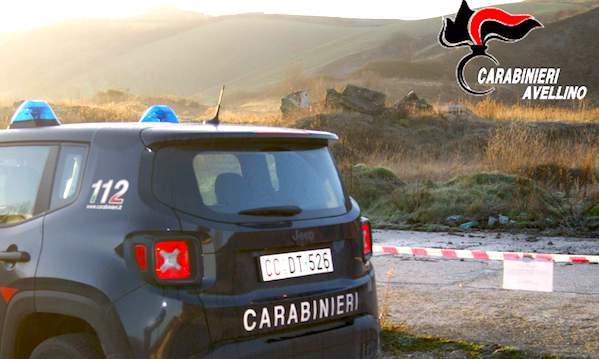 Rifiuti nel sottosuolo, operazione dei carabinieri ad Ariano