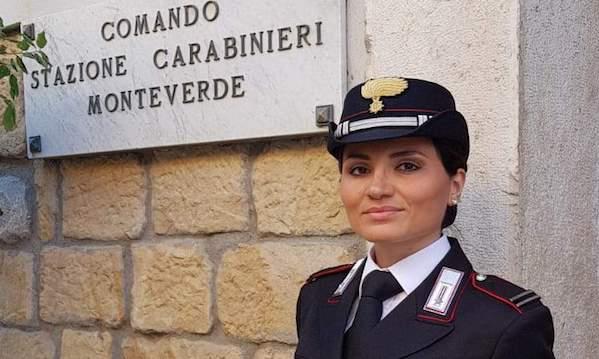 Comandante donna in una stazione: prima volta in Irpinia, succede a Monteverde